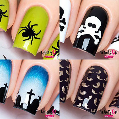 10-Amazing-Nail-Stencils-For-Halloween-2018-5