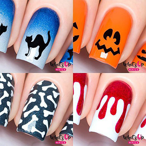 10-Amazing-Nail-Stencils-For-Halloween-2018-6