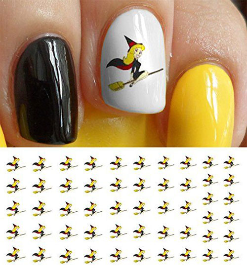 10-Best-Halloween-Witch-Nail-Art-Stickers-Decals-2018-10