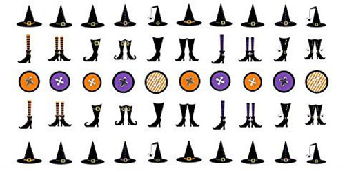 10-Best-Halloween-Witch-Nail-Art-Stickers-Decals-2018-7