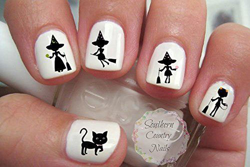 10-Best-Halloween-Witch-Nail-Art-Stickers-Decals-2018-9