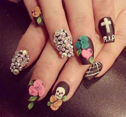 100-Best-Halloween-Nails-Art-Designs-Ideas-2018-100