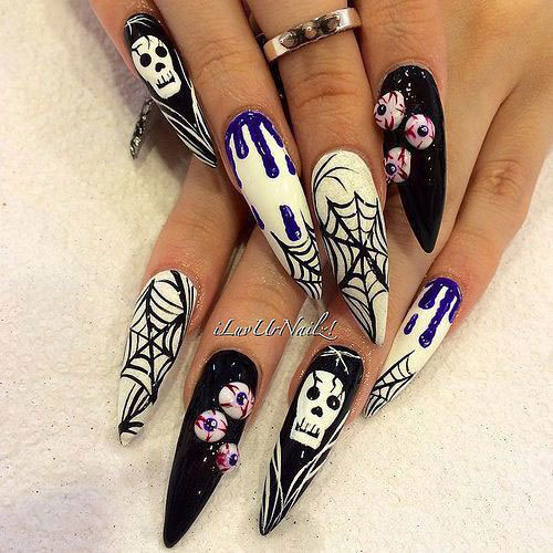 100-Best-Halloween-Nails-Art-Designs-Ideas-2018-101