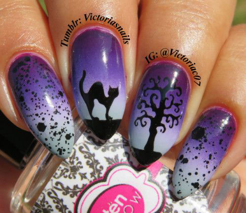 100-Best-Halloween-Nails-Art-Designs-Ideas-2018-17