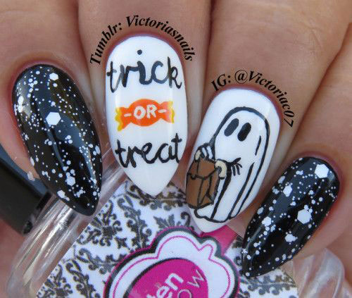 100-Best-Halloween-Nails-Art-Designs-Ideas-2018-21