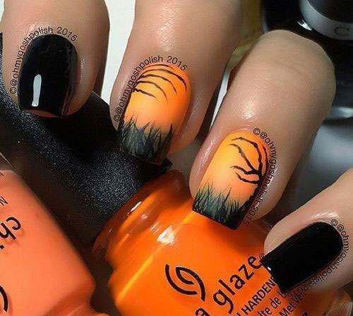 100-Best-Halloween-Nails-Art-Designs-Ideas-2018-23