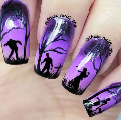 100-Best-Halloween-Nails-Art-Designs-Ideas-2018-27