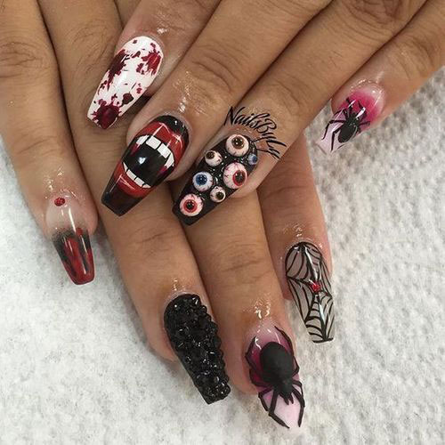 100-Best-Halloween-Nails-Art-Designs-Ideas-2018-3