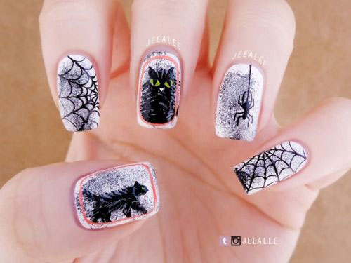 100-Best-Halloween-Nails-Art-Designs-Ideas-2018-34