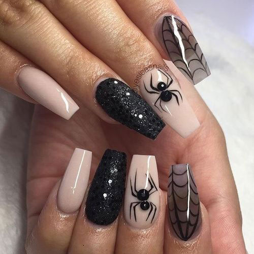 100-Best-Halloween-Nails-Art-Designs-Ideas-2018-42