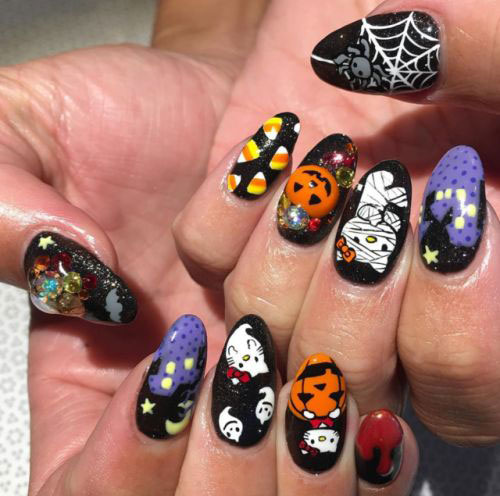 100-Best-Halloween-Nails-Art-Designs-Ideas-2018-43