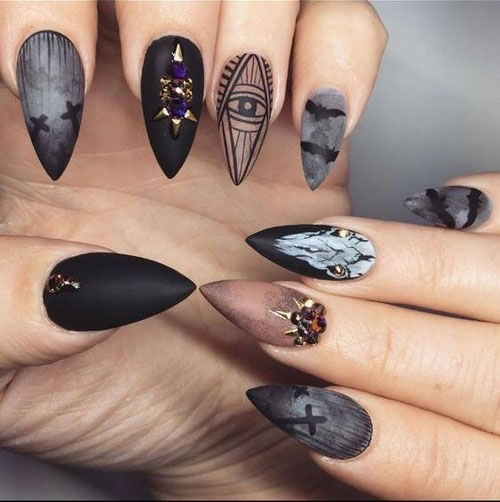 100-Best-Halloween-Nails-Art-Designs-Ideas-2018-49