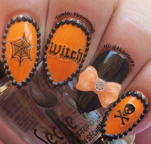 100-Best-Halloween-Nails-Art-Designs-Ideas-2018-70