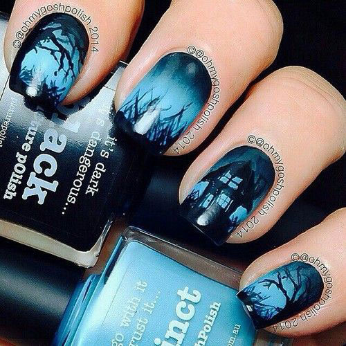 100-Best-Halloween-Nails-Art-Designs-Ideas-2018-83