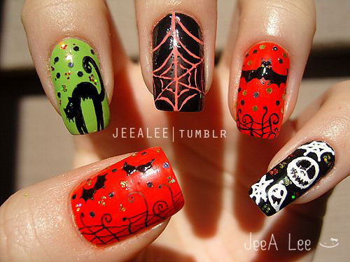 100-Best-Halloween-Nails-Art-Designs-Ideas-2018-87