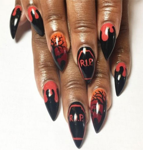 100-Best-Halloween-Nails-Art-Designs-Ideas-2018-9