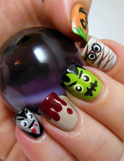 100-Best-Halloween-Nails-Art-Designs-Ideas-2018-93