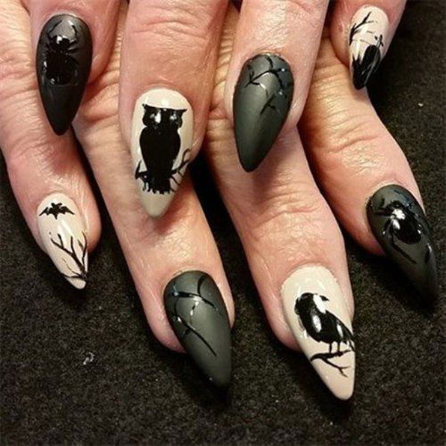 100-Best-Halloween-Nails-Art-Designs-Ideas-2018-98