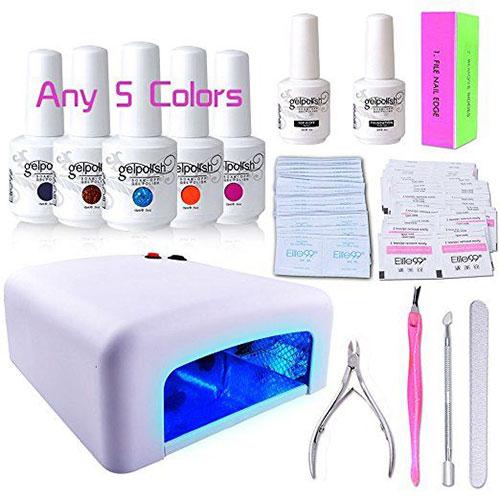 12-Gel-Nail-Polish-Kit-With-UV-Light-Tools-Set-For-Halloween-2018-3