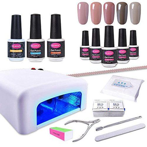 12-Gel-Nail-Polish-Kit-With-UV-Light-Tools-Set-For-Halloween-2018-4