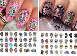 12-Halloween-Skull-Nail-Art-Decals-2018-Monster-Nails-F