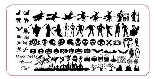 12-Halloween-Themed-Nail-Art-Stamps-For-Girls-Women-2018-12