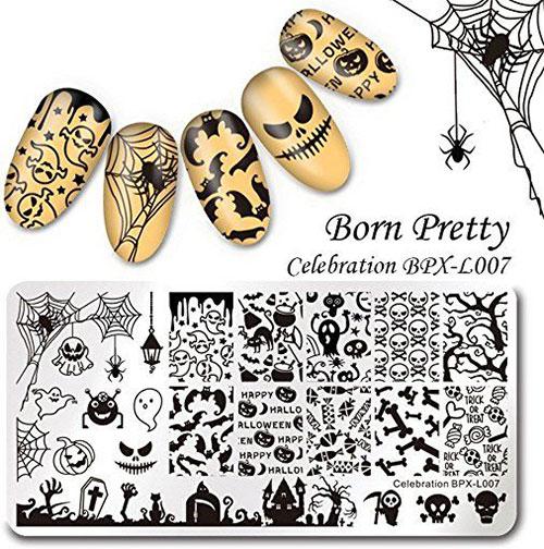 12-Halloween-Themed-Nail-Art-Stamps-For-Girls-Women-2018-4