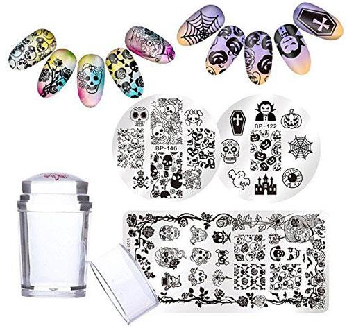 12-Halloween-Themed-Nail-Art-Stamps-For-Girls-Women-2018-7
