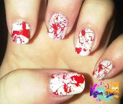 12-Scary-Halloween-Blood-Nails-Art-Designs-Ideas-2018-8