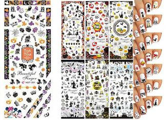 15-Simple-Halloween-Nail-Art-Stickers-2018-F