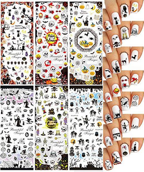 15-Simple-Halloween-Nail-Art-Stickers-2018-8