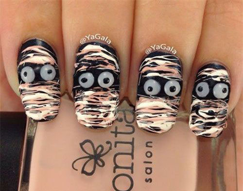 18-Creepy-Halloween-Mummy-Nails-Art-Designs-Ideas-2018-18