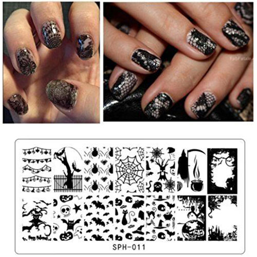 18-Halloween-Themed-Nail-Art-Stamping-Kits-For-Girls-Women-2018-13