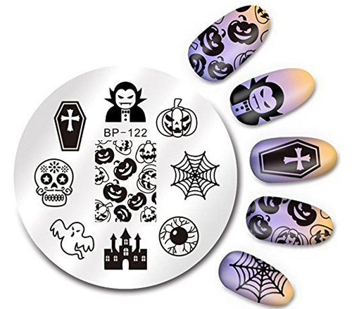 18-Halloween-Themed-Nail-Art-Stamping-Kits-For-Girls-Women-2018-18
