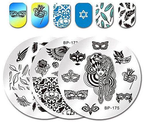 18-Halloween-Themed-Nail-Art-Stamping-Kits-For-Girls-Women-2018-2