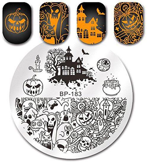 18-Halloween-Themed-Nail-Art-Stamping-Kits-For-Girls-Women-2018-3