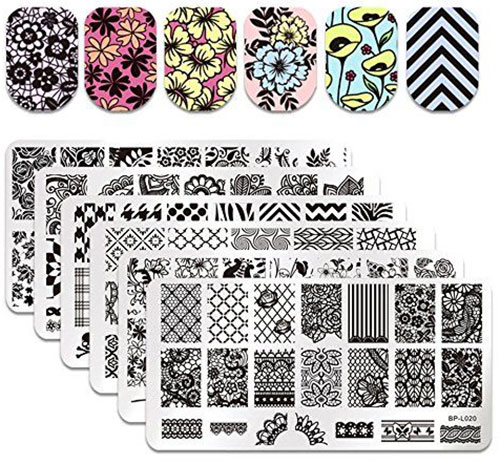 18-Halloween-Themed-Nail-Art-Stamping-Kits-For-Girls-Women-2018-4