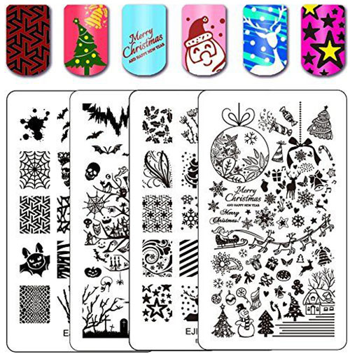 18-Halloween-Themed-Nail-Art-Stamping-Kits-For-Girls-Women-2018-9