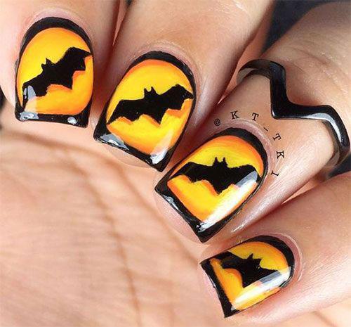 20-Halloween-Bat-Nails-Designs-Ideas-2018-10