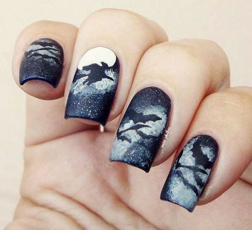 20-Halloween-Bat-Nails-Designs-Ideas-2018-12