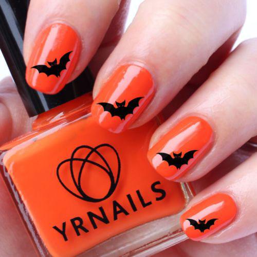 20 Bat Nails Designs Ideas
