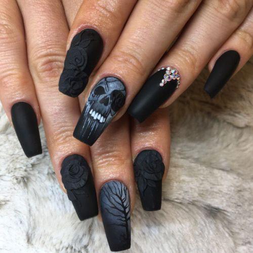 20+ Halloween Themed 3d Nail Art Designs \u0026 Ideas 2018