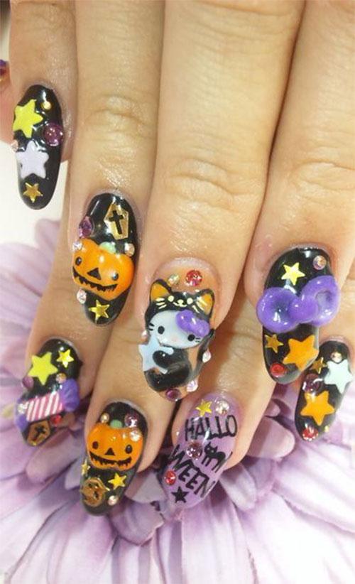 20-Very-Easy-Halloween-Acrylic-Nail-Art-Designs-Ideas-2018-16