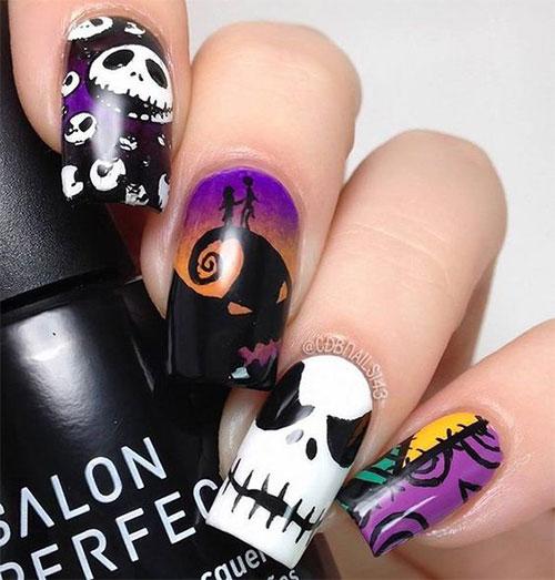 20-Very-Easy-Halloween-Acrylic-Nail-Art-Designs-Ideas-2018-17