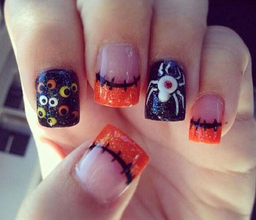 20-Very-Easy-Halloween-Acrylic-Nail-Art-Designs-Ideas-2018-20