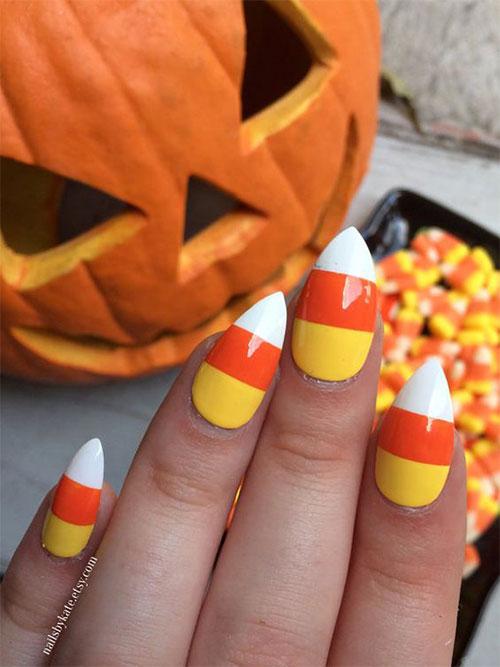 25-Easy-Simple-Halloween-Candy-Corn-Nails-Art-Ideas-2018-1