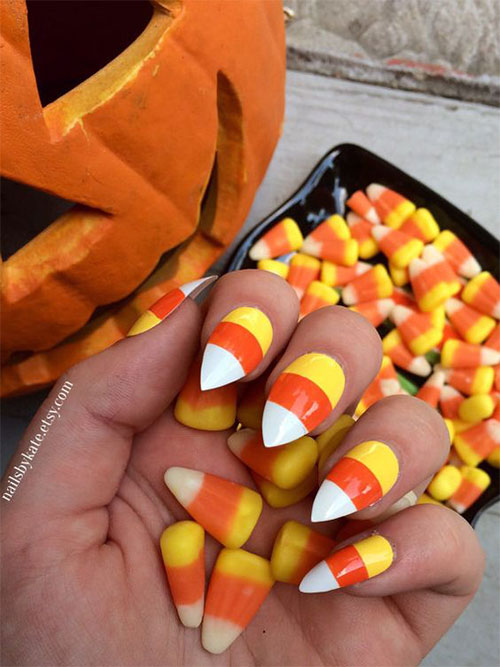 25-Easy-Simple-Halloween-Candy-Corn-Nails-Art-Ideas-2018-2