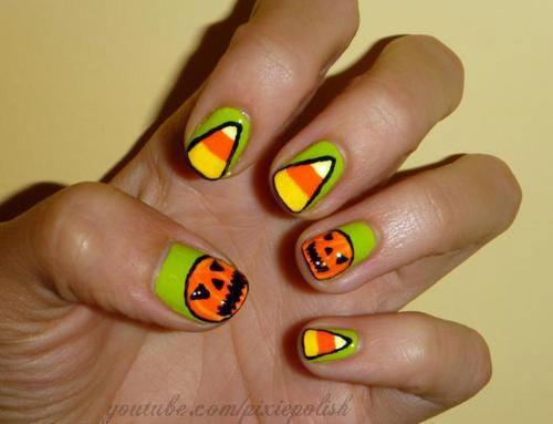 25-Easy-Simple-Halloween-Candy-Corn-Nails-Art-Ideas-2018-20