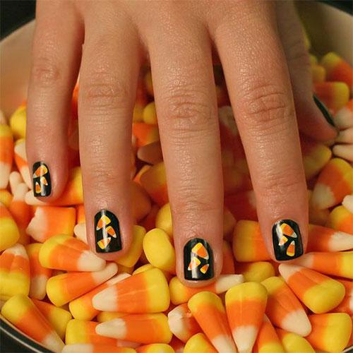 25-Easy-Simple-Halloween-Candy-Corn-Nails-Art-Ideas-2018-25