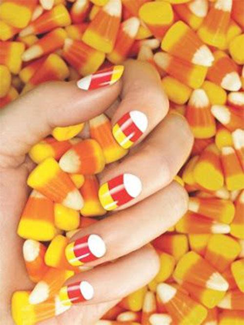 25-Easy-Simple-Halloween-Candy-Corn-Nails-Art-Ideas-2018-3
